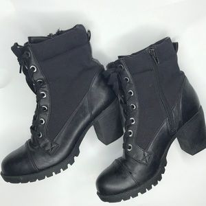 XOXO black boots,  booties